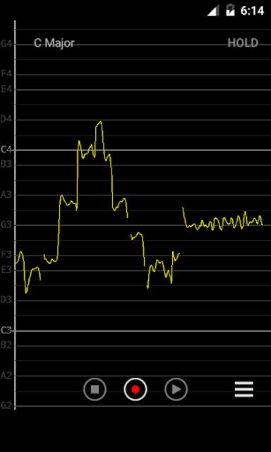 Vocal Pitch Monitor (No Ad) screenshot 1