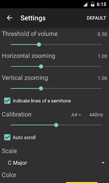 Vocal Pitch Monitor (No Ad) screenshot 2