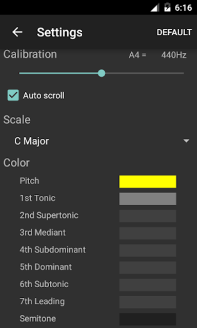 Vocal Pitch Monitor (No Ad) screenshot 3