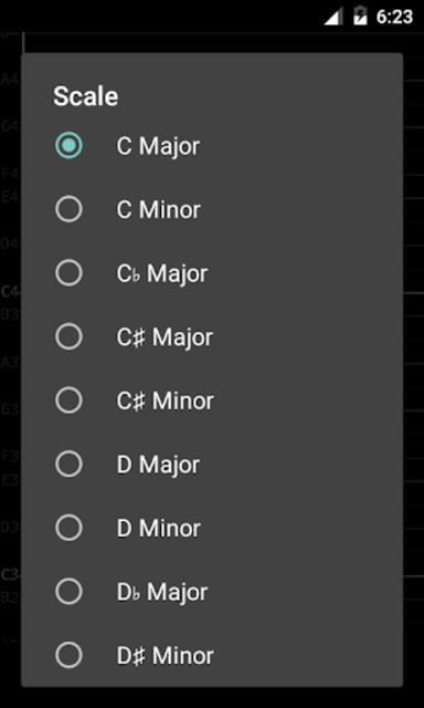 Vocal Pitch Monitor (No Ad) screenshot 4