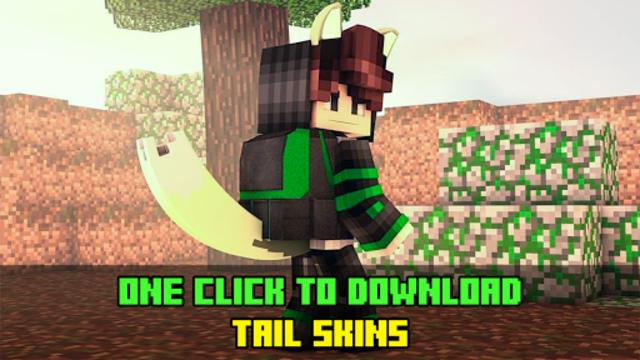 Girl with Tail Skins screenshot 1