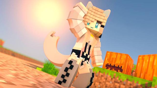 Girl with Tail Skins screenshot 2