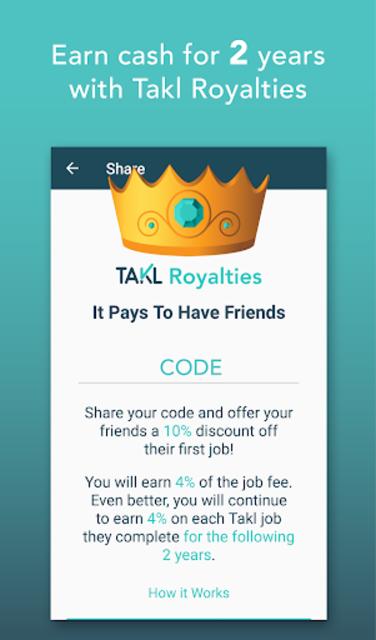 Takl - Home Services On Demand screenshot 2