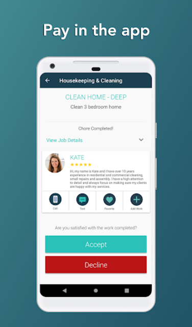 Takl - Home Services On Demand screenshot 4