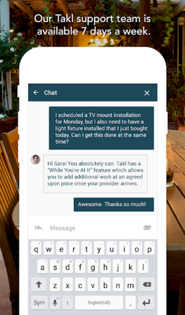 Takl - Home Services On Demand screenshot 6