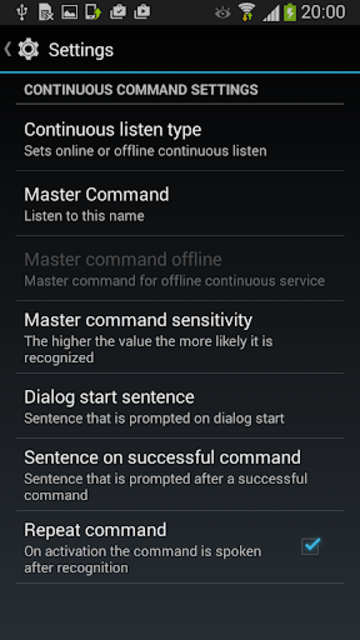 Talk to SONOS (R) screenshot 4