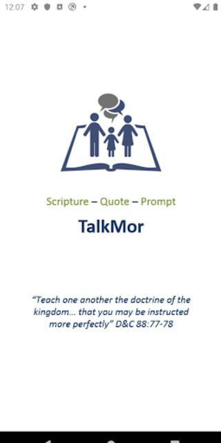 TalkMor: LDS Daily Devotional Book of Mormon/Gen.C screenshot 1