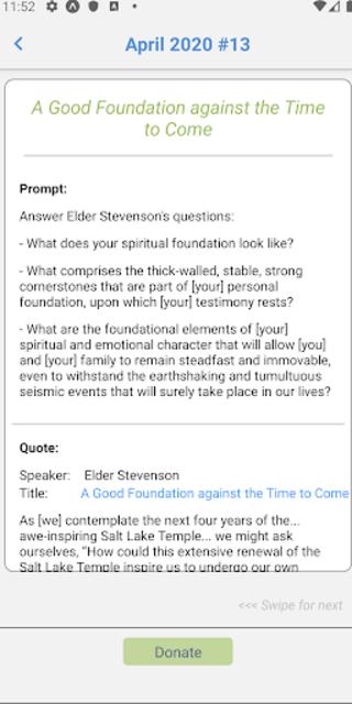TalkMor: LDS Daily Devotional Book of Mormon/Gen.C screenshot 3