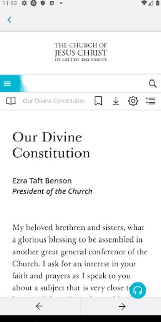 TalkMor: LDS Daily Devotional Book of Mormon/Gen.C screenshot 7