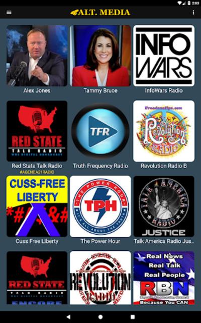 Alt. Media - Alternative Talk Radio screenshot 2