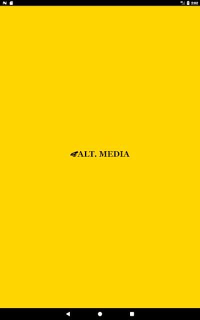 Alt. Media - Alternative Talk Radio screenshot 1