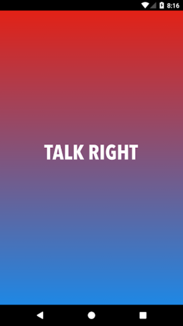 Talk Right - Conservative Talk Radio screenshot 1