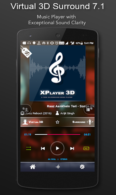 3D Surround Music Player screenshot 1