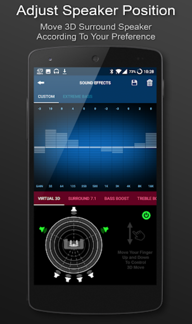 3D Surround Music Player screenshot 2