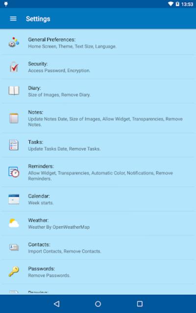 My Personal Agenda Pro screenshot 20
