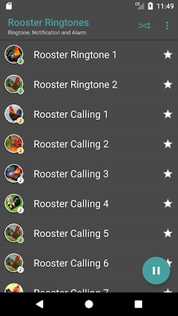 Appp.io - Rooster Sound Ringtones screenshot 2
