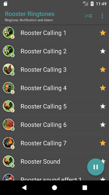 Appp.io - Rooster Sound Ringtones screenshot 3