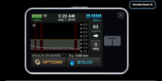 t:simulator™ App screenshot 5