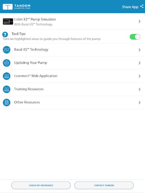 t:simulator™ App screenshot 6