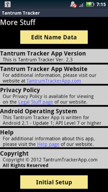 Tantrum Tracker screenshot 3