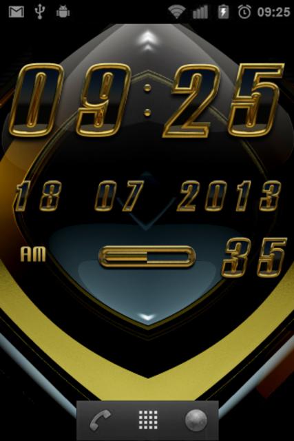 Aviena digital Clock Widget screenshot 2