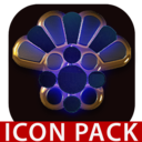Icon for OCEAN icon pack blue black gold