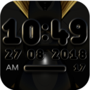 Icon for VARGO Digital Clock Widget black