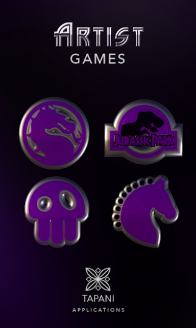 ARTIST purple HD Icon Pack screenshot 3