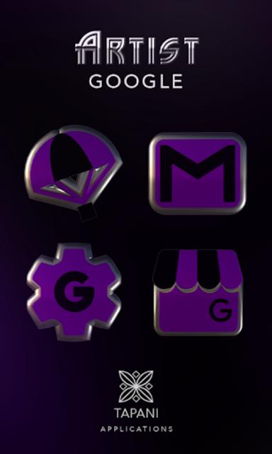 ARTIST purple HD Icon Pack screenshot 4