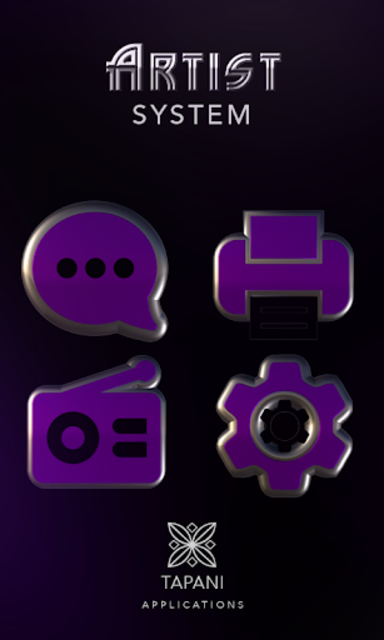 ARTIST purple HD Icon Pack screenshot 5