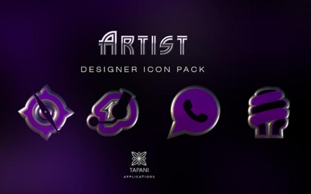 ARTIST purple HD Icon Pack screenshot 6