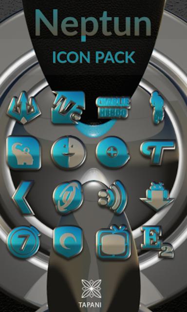 NEPTUN HD Icon Pack water blue screenshot 1