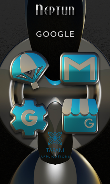 NEPTUN HD Icon Pack water blue screenshot 5