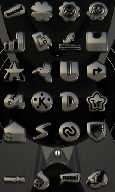SHADOW HD Icon Pack platin screenshot 2