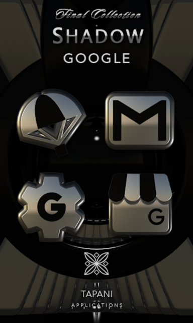 SHADOW HD Icon Pack platin screenshot 4