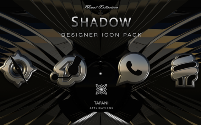 SHADOW HD Icon Pack platin screenshot 6