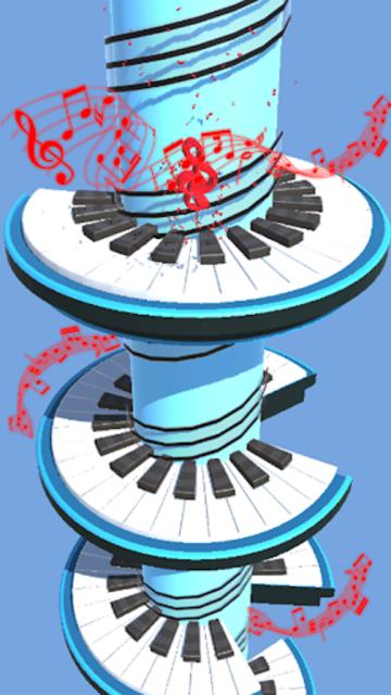 Helix Piano Tiles - Dream Piano Magic Tiles screenshot 1
