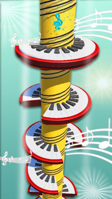 Helix Piano Tiles - Dream Piano Magic Tiles screenshot 2