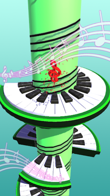 Helix Piano Tiles - Dream Piano Magic Tiles screenshot 4