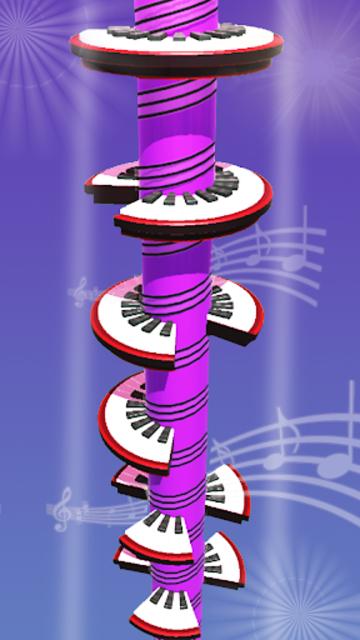 Helix Piano Tiles - Dream Piano Magic Tiles screenshot 5
