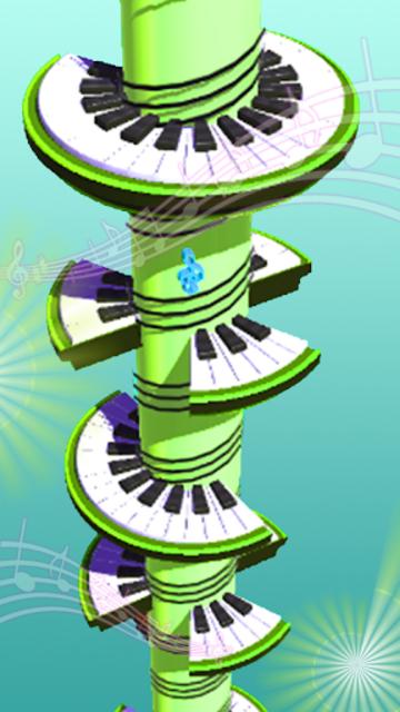 Helix Piano Tiles - Dream Piano Magic Tiles screenshot 6