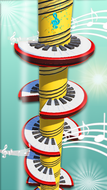 Helix Piano Tiles - Dream Piano Magic Tiles screenshot 8