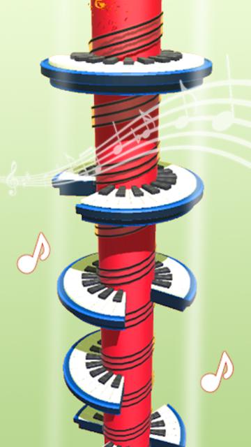 Helix Piano Tiles - Dream Piano Magic Tiles screenshot 9