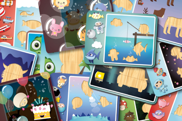 Puzzle for children - Kids game kids 1-3 years old screenshot 5