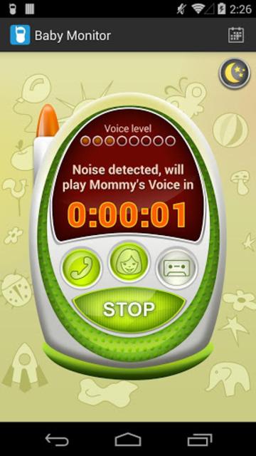 Baby Monitor & Alarm screenshot 1