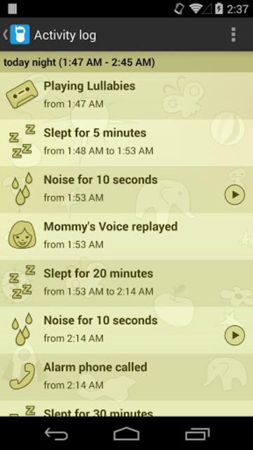 Baby Monitor & Alarm screenshot 3