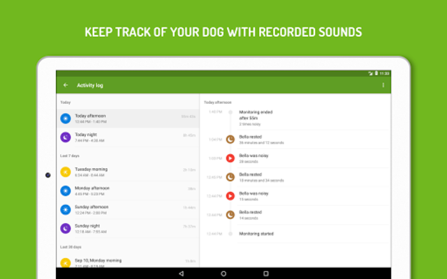 Dog Monitor: Puppy video cam screenshot 9
