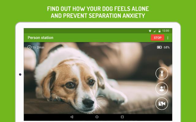 Dog Monitor: Puppy video cam screenshot 6