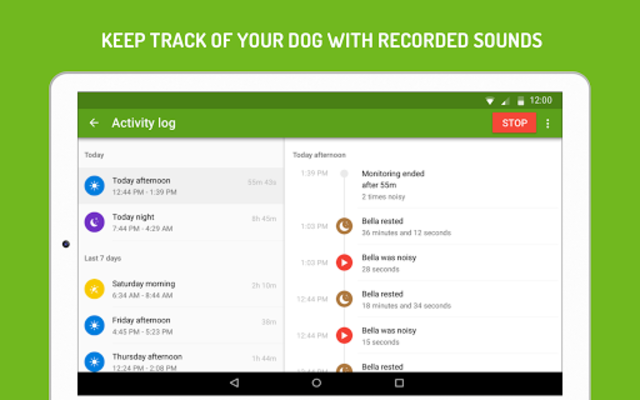 Dog Monitor: Puppy video cam screenshot 13
