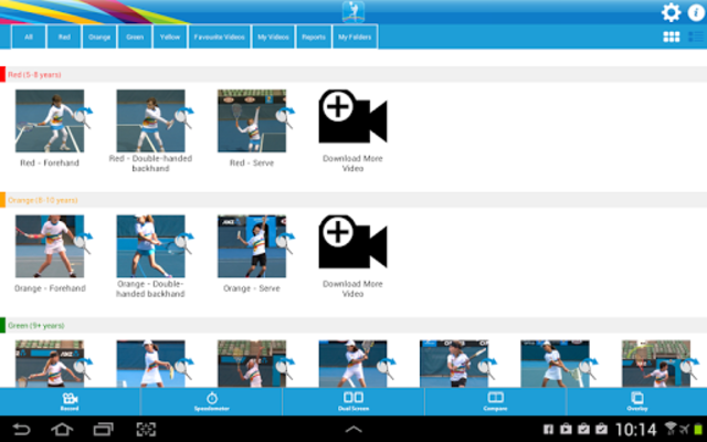 Tennis Australia Technique screenshot 6